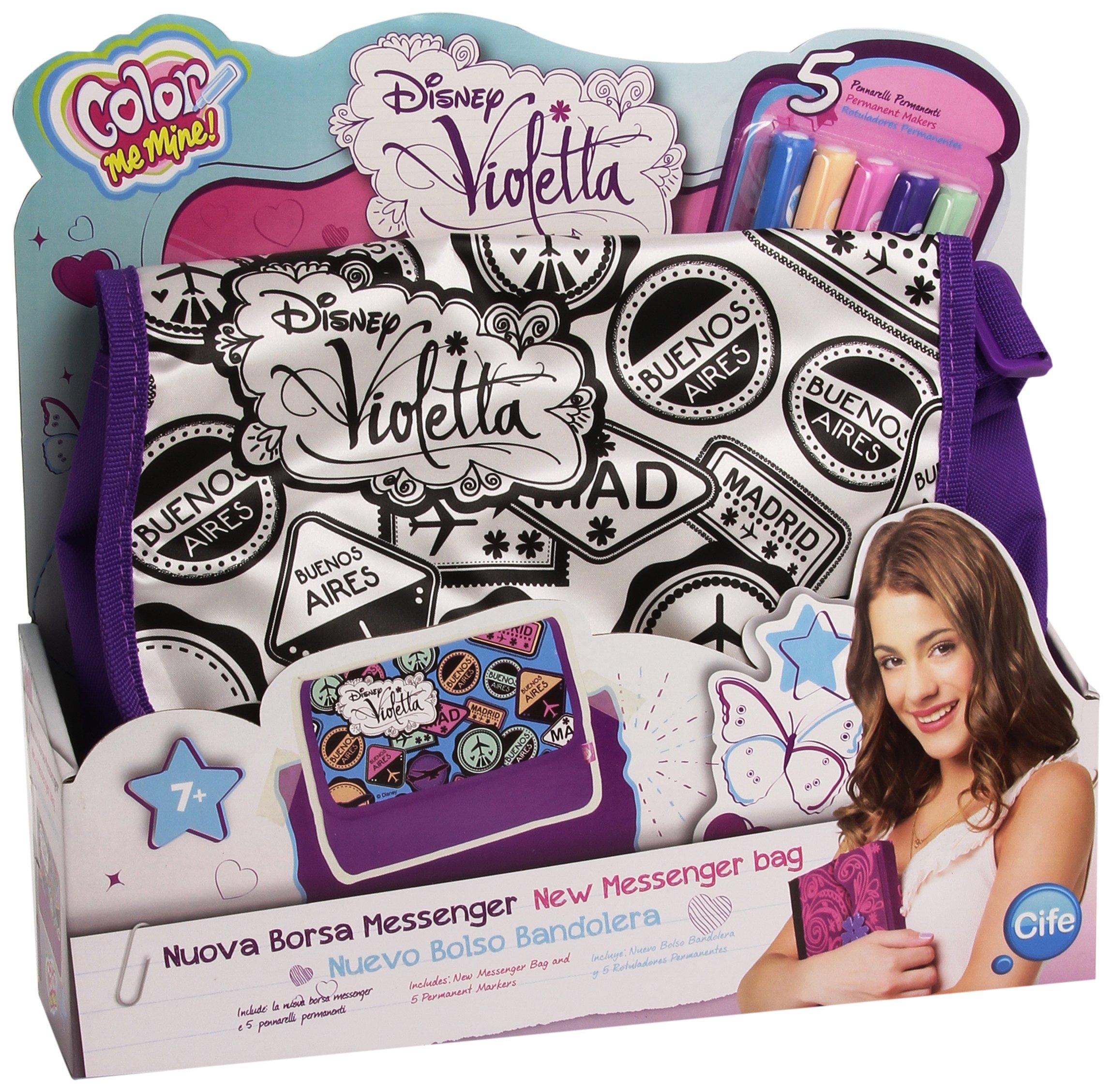 Color Me Mine – Bolso Bandolera con diseño Violetta (Cife 86080)