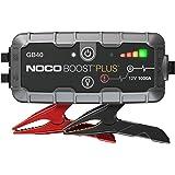 NOCO Boost Plus GB40, 12V 1000A Booster Batterie Voiture, UltraSafe Lithium Jump Starter, et Pack de Démarrage Voiture pour Moteurs Essence Jusqu'à 6-Litres et Moteurs Diesel Jusqu'à 3-Litres