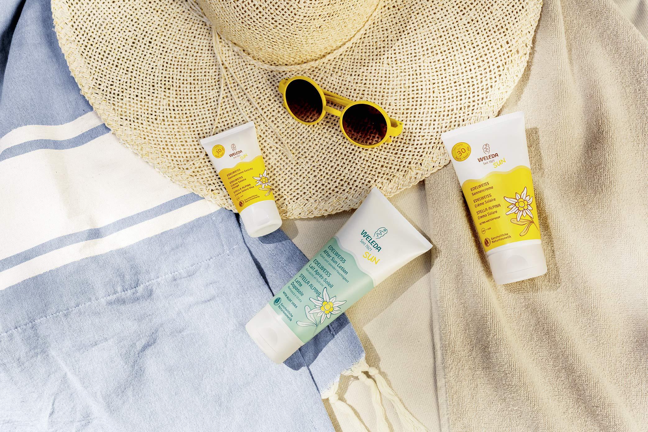 Weleda 7556CH crema de protección solar Cuerpo 50 ml – Cremas de protección solar (Cuerpo, 50 ml, Hidratante, Protección, Piel sensible, Tubo, 1 pieza(s))