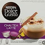 Nescafé Dolce Gusto Chai Tea Latte, Lot de 3, 3 x 16 Capsules (24 Portions)