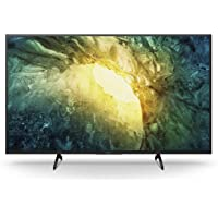 Sony KD-43X7055 Bravia 108 cm (43 Zoll) Fernseher (LED, 4K Ultra HD (UHD), High Dynamic Range (HDR), Smart TV, 2020…