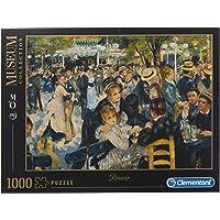 Clementoni - 31412.6 - Puzzle Collection High Quality - 1000 Pièces - Bal du Moulin de la Galette - Renoir