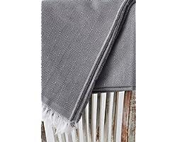 TEXTIL-HOME Textilhome - Couvre-lit por Canape à Housse Dante, Taille 180x285 cm - Jeté de lit ou Jeté de canapé - Couleur Gr