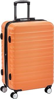 Hochwertiger Hartschalen-Trolley mit eingebautem TSA-Schloss und Laufrollen, 68 cm, Orange