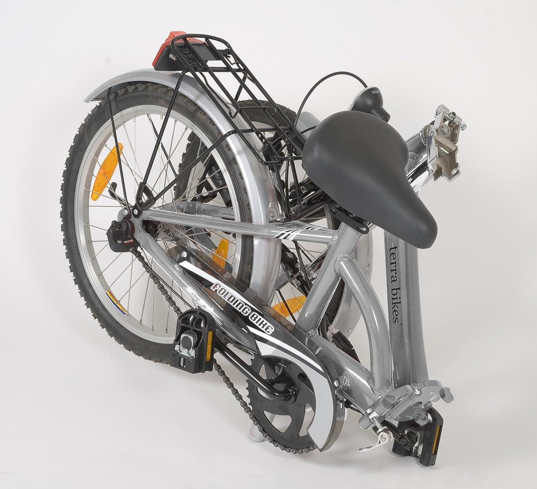 Bicicleta Terrabike plegada
