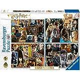 Ravensburger Puzzle, 06832, Harry Potter, Puzzle Bumper Pack 4x100 Piezas, Edad Recomendada 5+, Rompecabezas Ravensburger
