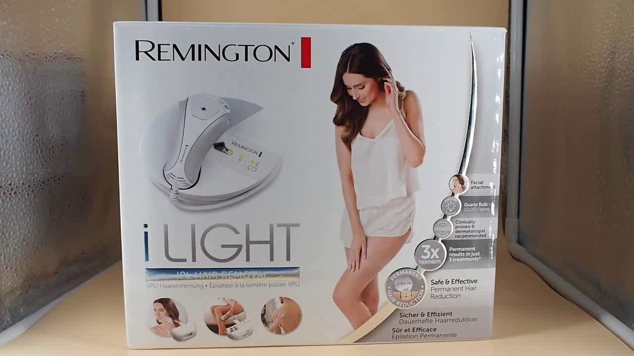 Amazon.es:Opiniones de clientes: Remington IPL6780 i-Light - Depiladora de luz pulsada, 150.000 disparos, tecnología Propulse, color blanco y gris