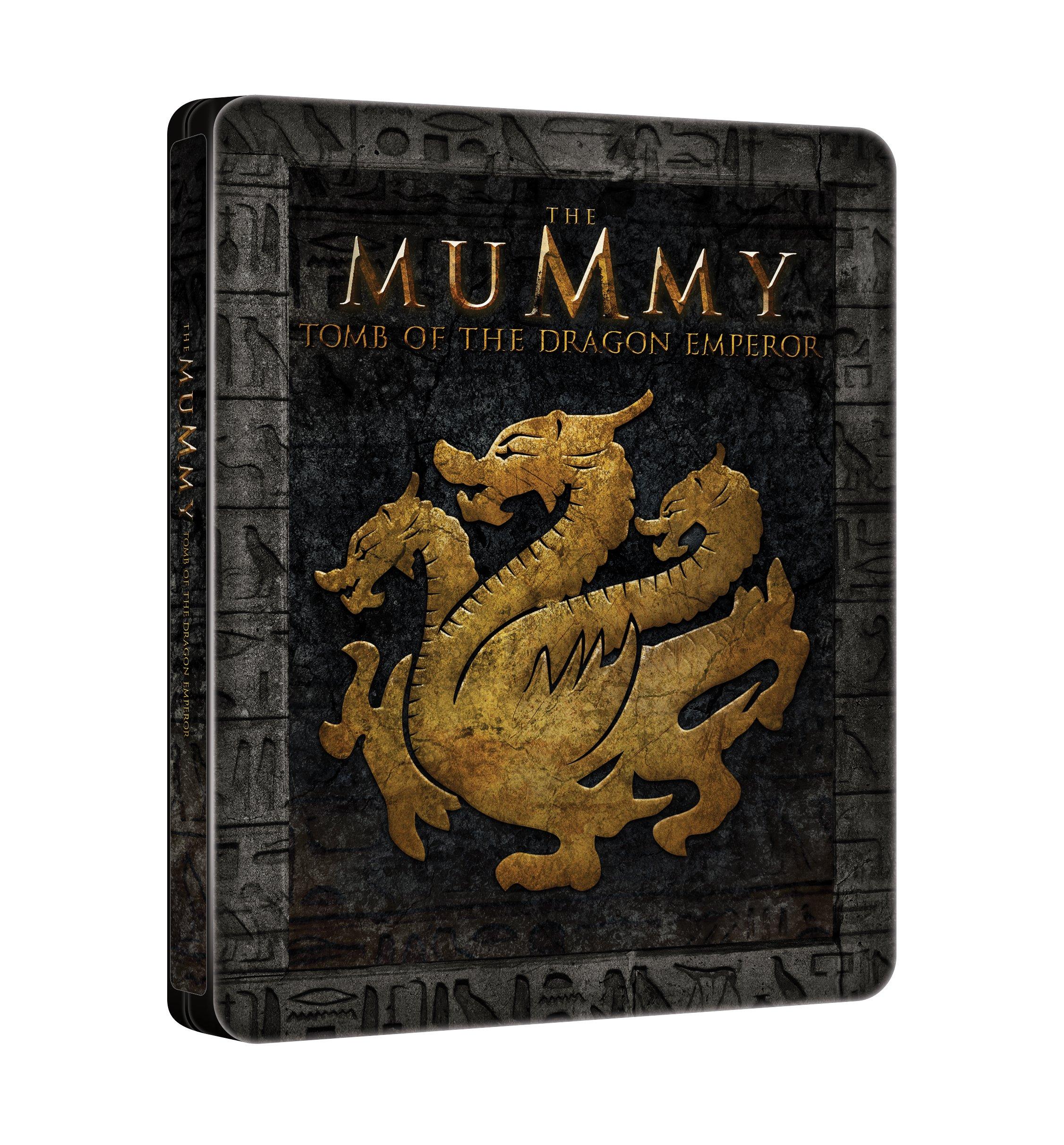 La Mummia: La Tomba dell'Imperatore Dragone (Steelbook) (Blu-Ray)