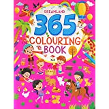 365 Colouring Book for Kids - Painting and Drawing Book with 368 Big Pictures