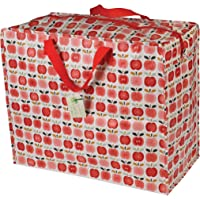 Vintage Apple recyclé Motif grand sac de rangement réutilisable pour linge