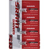 SRAM 00.2518.003.000 Eslabon De Cadena Power Lock 11V Silver (Kit 4 Unidades), Unisex Adulto, Plateado