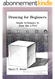 Drawing for Beginners: Simple techniques to draw like a Pro! (English Edition)