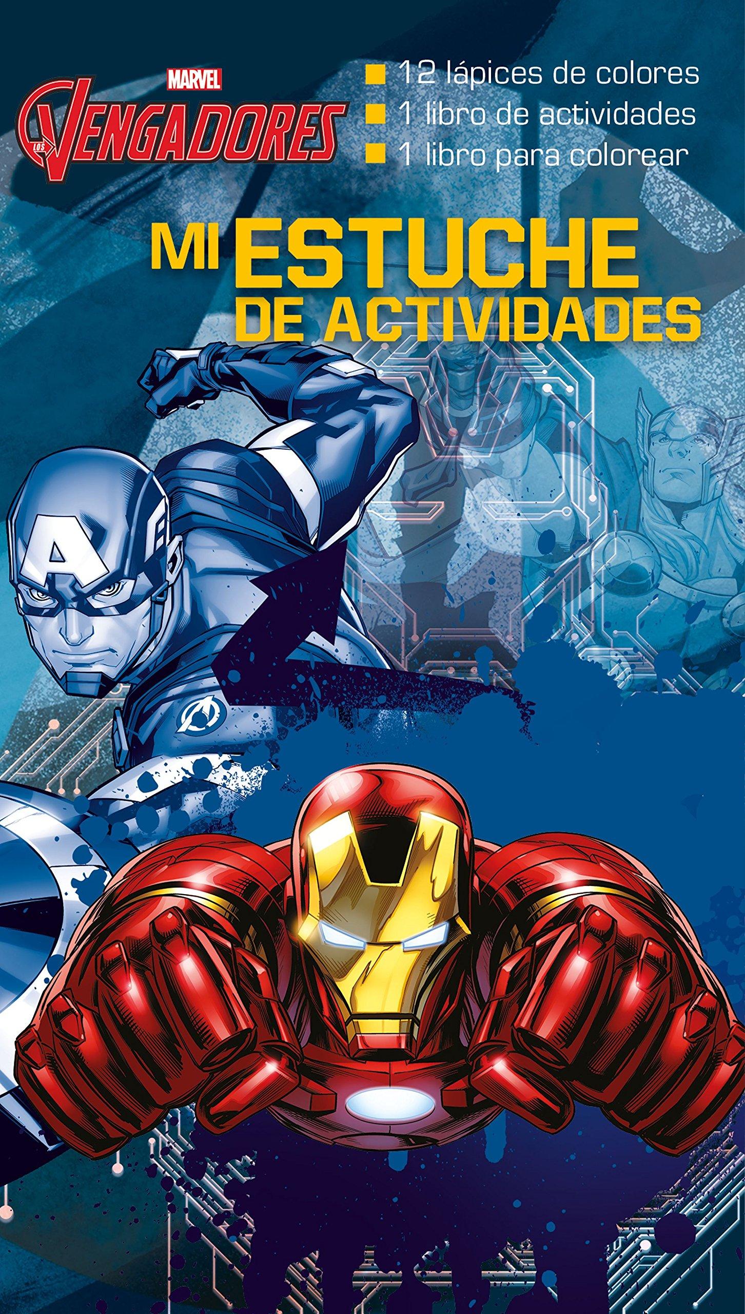 Los Vengadores. Mi estuche de actividades (Marvel. Los Vengadores)