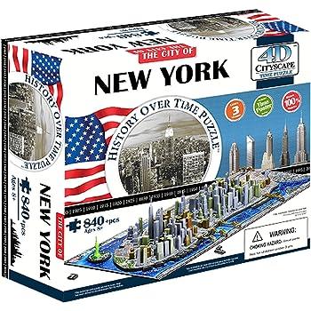 4d cityscape - ino4dny - Puzzle 4d de new york