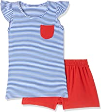 Mothercare Girls' Regular Fit Pyjama Top