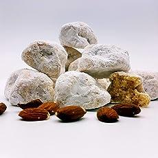 Paste di mandorla siciliane in elegante confezione regalo (gr. 500). RAREZZE: paste di mandorla, pasticcini, dolcetti, biscotti, pasticceria da antico laboratorio artigianale siciliano.