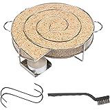 riijk Koude rookgenerator voor koud roken in rookoven, grill enz. | Rookslak ronde slak – spaarrand koude rookgenerator | roo