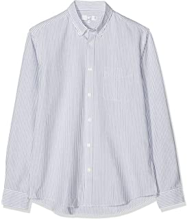Marchio MERAKI Camicia Regular Fit in Cotone a Manica Lunga Uomo