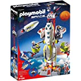Playmobil Space Mission Rocket With Launch Site Toy, Multi Colour, 9488