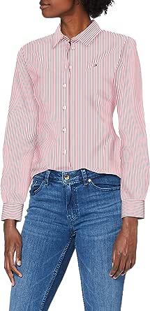 Tommy Hilfiger Alexis Regular LS Shirt Camicia Donna