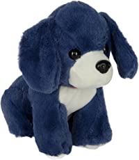 Dhoom Soft Toys Dog Soft Cute Toy / Dog Stuffed Plush Toy / Kids Animal Toy Gift Blue, 20 cm