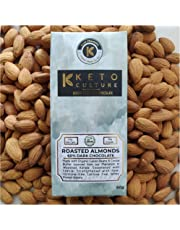Nepenthe Coffee and Chocolates Keto Sugar-Free Almonds and Walnuts Unsweetened Dark Chocolate,  60 g