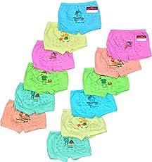 Pride Apparel Baby Girls Brief Unisex (Pack of 12) (3 Months - 7 Years)