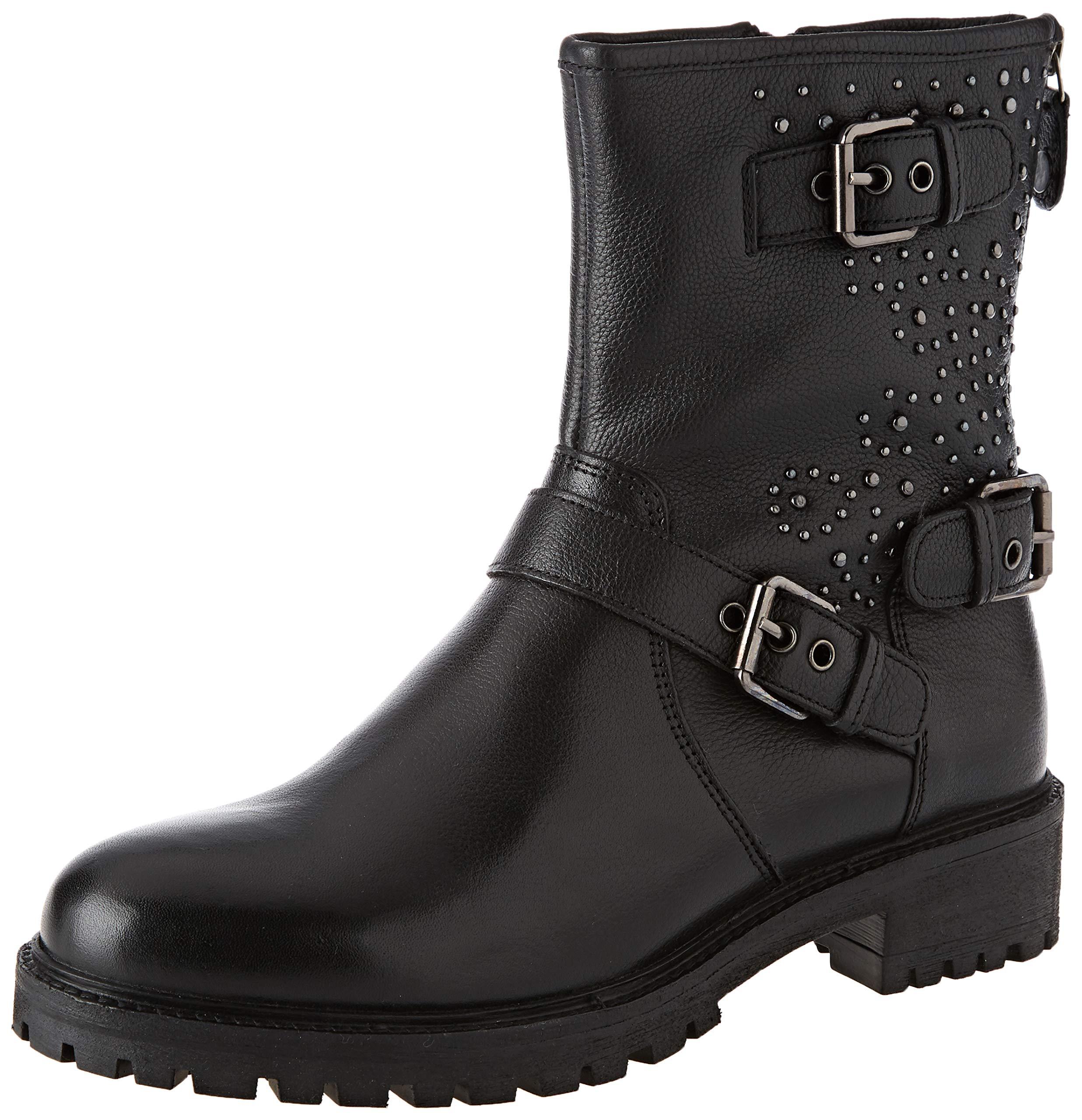Geox Damen D Hoara H Biker Boots 1