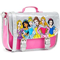 Disney Prinzessinnen Umhängetasche Mädchen, Kindertasche für Mädchen Sachen, Mädchen Geschenke Pink & Glitzer