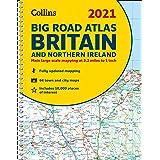 GB Big Road Atlas Britain 2021: A3 Spiral (Collins Road Atlas)