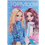 Depesche 7857 Kleurboek met 3D Cover TOPmodel, veelkleurig, 17.5 x 13 x 1.3 cm