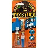 Gorilla Glue 701.265UK J0014 Gorilla Super Lijm Gel 6g, Standaard, 3 g, Set van 2 stuks