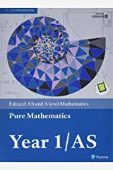 Edexcel AS and A level Mathematics Pure Mathematics Year 1/AS Textbook + e-book (A level Maths and Further Maths 2017) Paperback