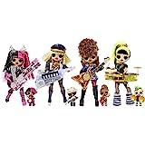 L.O.L Surprise! O.M.G. Remix Super Surprise - Super niespodzianka - 70+ niespodzianek, 4 modne lalki i 4 lalki