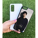 Louis Tomlinson One Direction Portrait Personalised Name Case Cute Custom Aesthetic Text Black White Kawaii Plastic tpu…