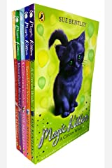 Magic Kitten Collection 5 Books Set By Sue Bentley (A Glittering Gallop, Sparkling Steps, A Christmas Surprise, Moonlight Mischief, A Circus Wish) Paperback