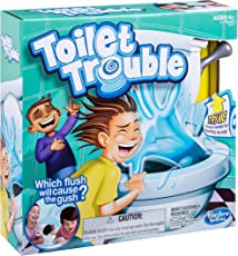 Hasbro Toilet Trouble Game, White