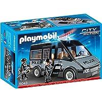 Playmobil - 6043 -  Voiture de patrouille de la police avec son et lumière
