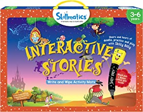 Skillmatics Educational Game: Interactive Stories, 3-6 Years