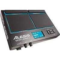 Alesis SamplePad 4 - MultiPad de Batteries Électronique 4 Zones Sensibles avec 25 Sons de Kit Batterie, Lecteur de Carte SD/SDHC, Effets et Sortie USB/MIDI