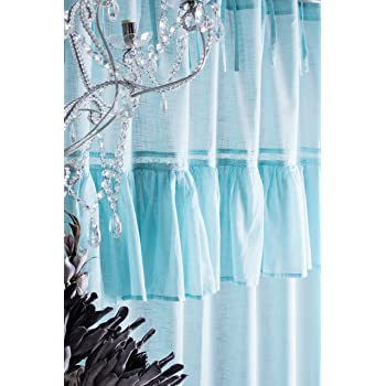 sofia altrosa puder vorhang gardine mit volant ca 145cmx250cm spitzenborte blumenmuster vorhang. Black Bedroom Furniture Sets. Home Design Ideas