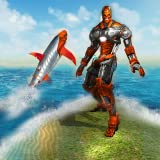 Robot Shark Transform 2018 - Shark Simulator Free