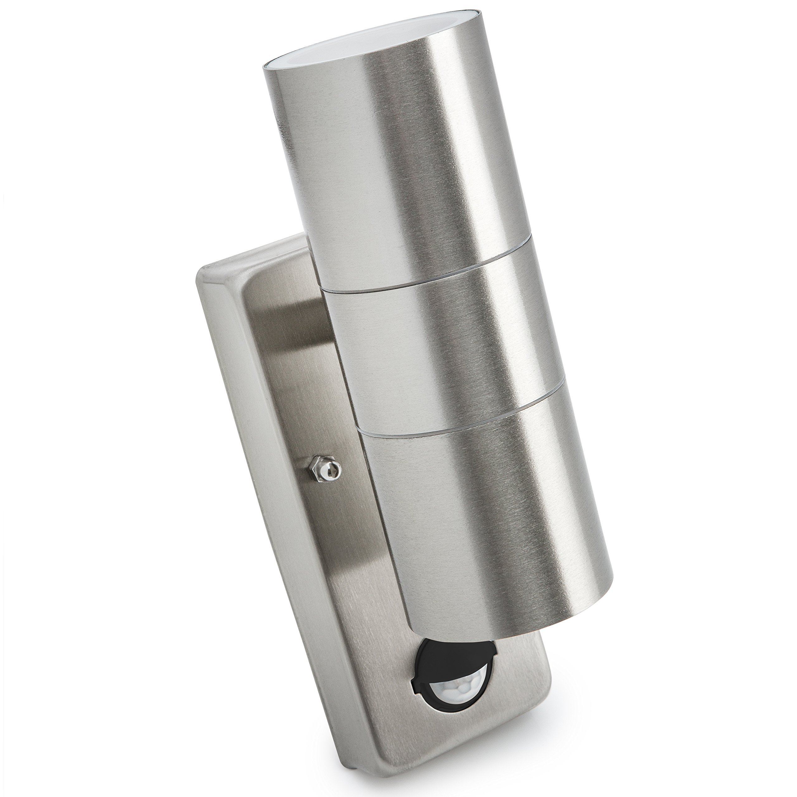 Outdoor Up and Down Light with Movement Sensor Exterior Front Door Wall Lamp eBay
