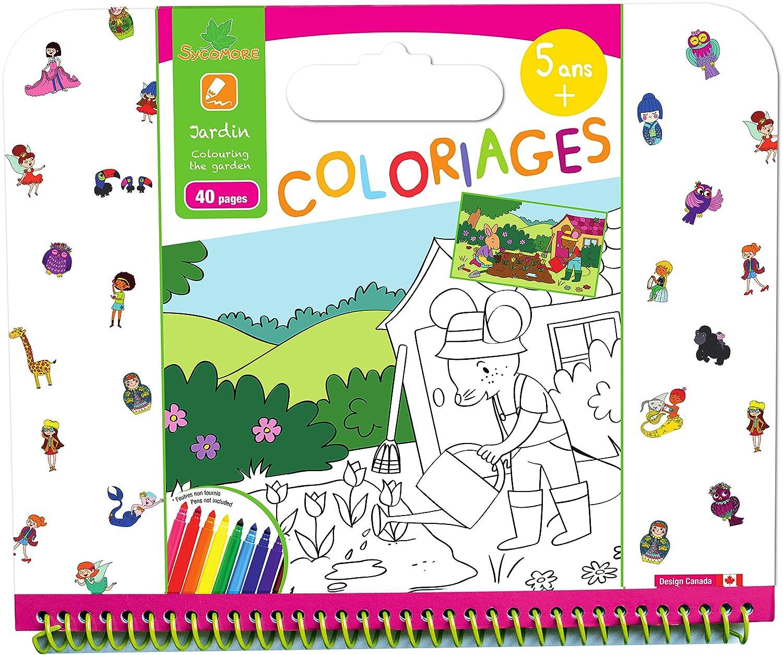 Sy ore CRE6022 Coloriage Enfant Coloriages Contes 40 Pages 5 Ans Amazon Jeux et Jouets