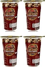 Desi Foodies Pop Corn, Chocolate, 20 Grams (Pack of 4)