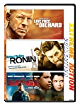 Extreme Action 3 Movies Collection: Live Free or Die Hard + Ronin + The Siege (3-Disc Box Set)