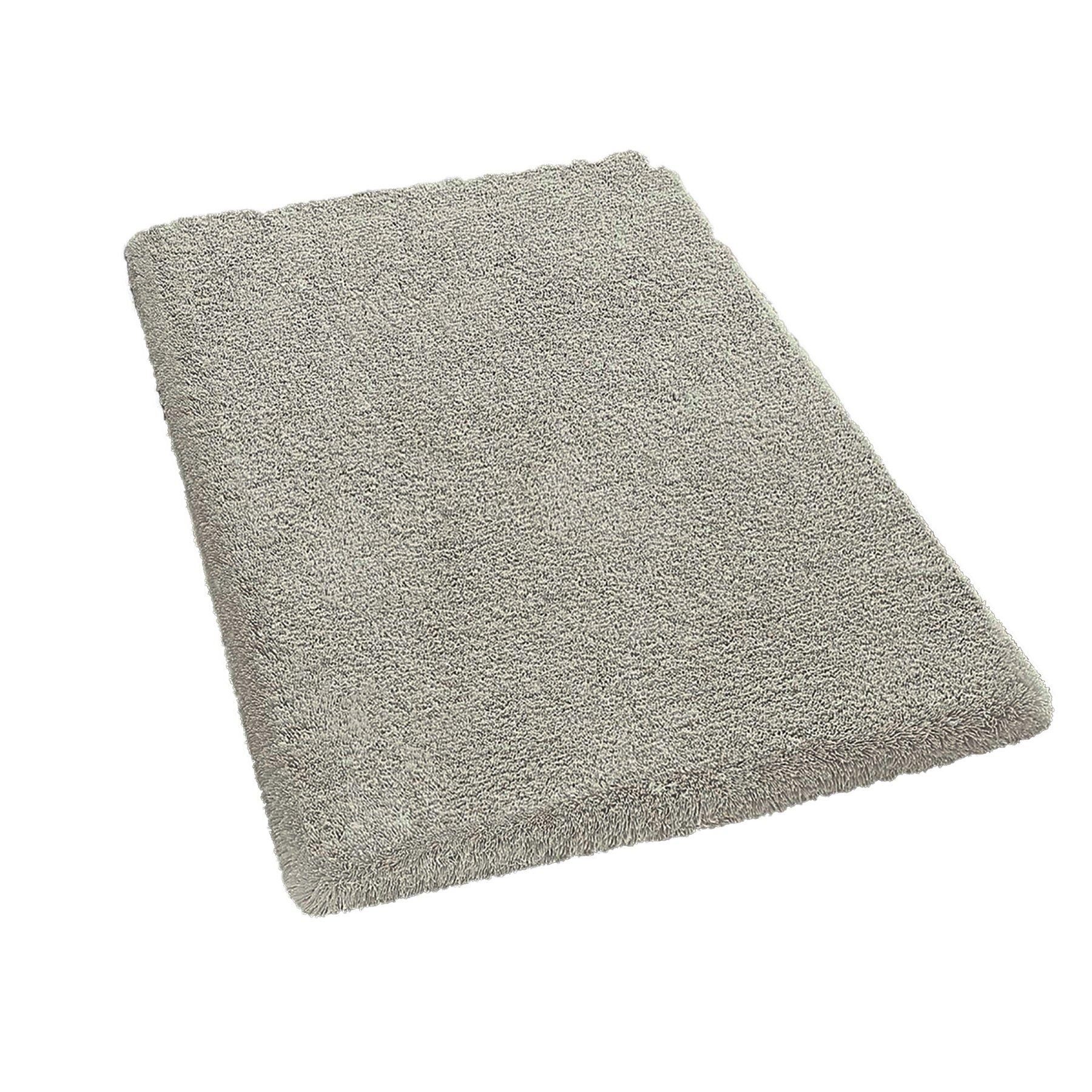 Kleine Wolke 5517114427�Live Tappeto di Bagno Cotone Bianco, Cotone, bianco, 60 x 90 cm