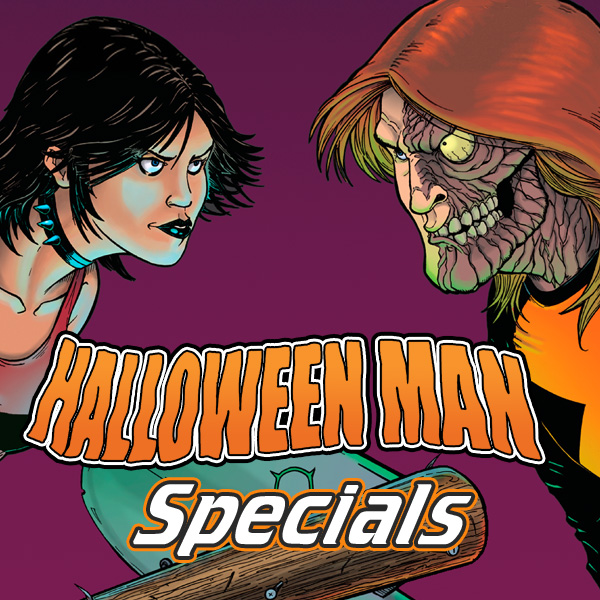 Halloween Man Specials (Issues) (3 Book Series)