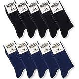 Mat & Vic's Calze, ottima qualità e comodità, OEKO-TEX 100-35 36 37 38 39 40 41 42 43 44 45 46 uomo donna (5 o 10 paia)