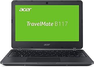 Acer TravelMate B1 TMB117-M-P4VH 29,5 cm (11,6 Zoll HD matt) Laptop (Intel Pentium N3710, 4GB RAM, 128GB SSD, Intel HD, Win 10 Home) schwarz